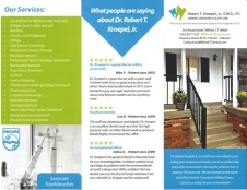 Dental online printable flyer